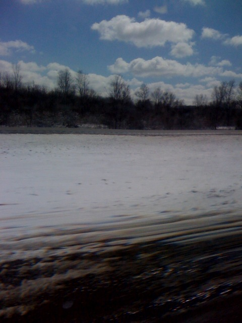 I'm in the land of snow ...